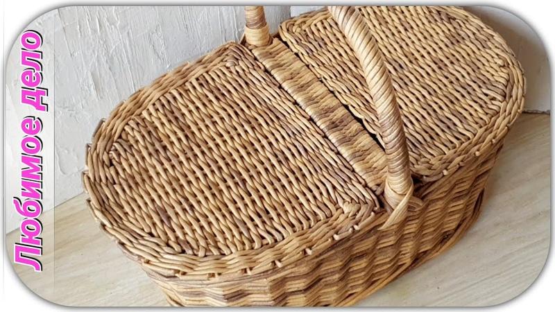 Полукруглая крышка к корзине - повторяю плетение. Запись эфира с Инстаграм от 25.05