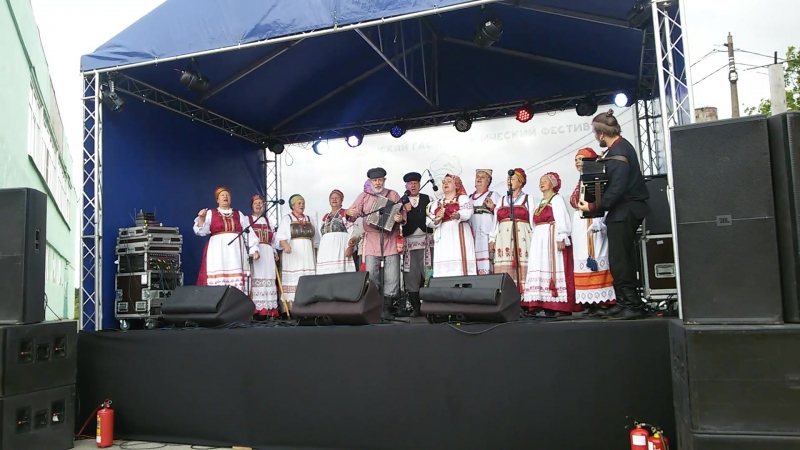 Яльгелево, Сытный день 2018. Ансамбль Родники.4