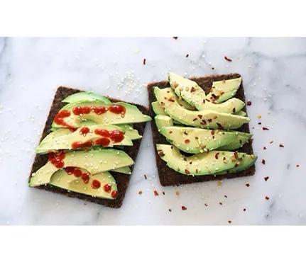 сочетание авокадо и тартильи