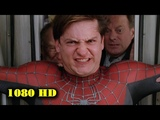 Торможение поезда Человек-Паук 2. 2004. Момент из фильма 1080p