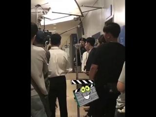 19.09.2018 || Fox Bride Star || Where Stars Land shooting (Lee Je Hoon, Chae Soo Bin, Kim Ji Soo)