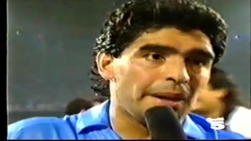 Napoli juve 1990