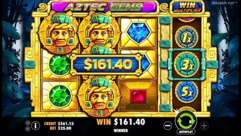 Игровой автомат Aztec Gems (Pragmatic Play)