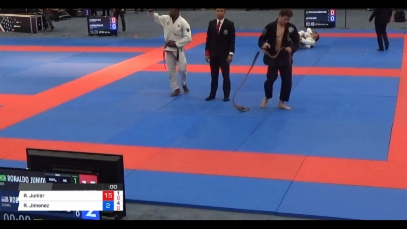Ronaldo Junior vs Roberto Jimenez – Brown Belt 85kg Semi-Final
