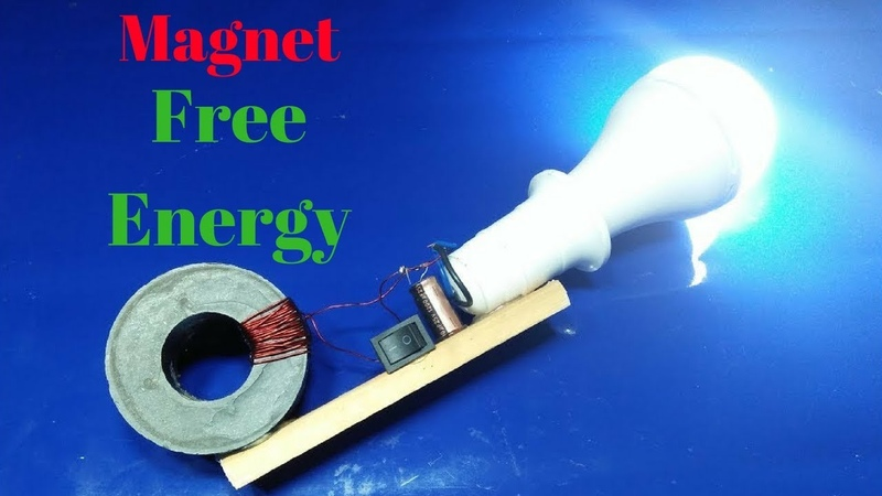 How to build free energy magnet and copper wire 100%real