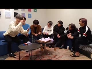 A compilation of them laughing from today's vlive