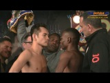 Nonito Donaire - Guillermo Rigondeaux Official Weigh-In + Face Off