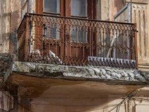 Аварійний балкон у Чернівцях