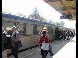 Прибытие поезда на вокзал Ла-Сьота в 1895 & 2012 .mov