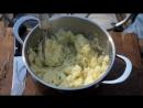 Грильков Грудинка с картошкой на шампурах