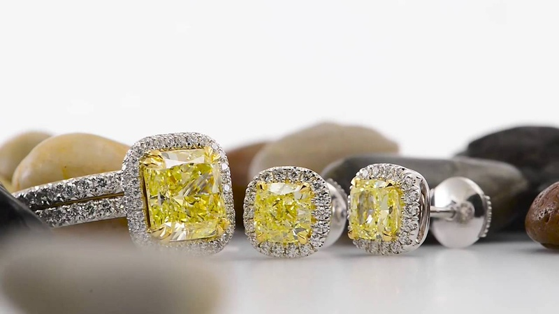 Yellow Diamond Rings and Earrings for Every Occasion