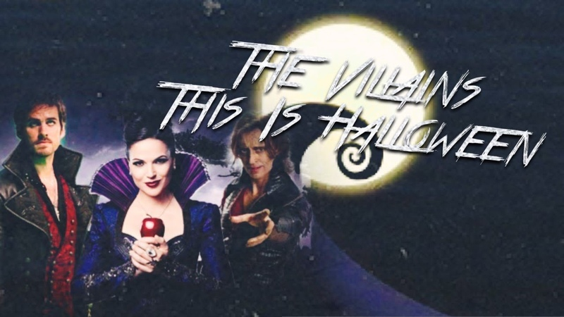 The OUAT Villains - This Is Halloween