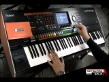 Roland Jupiter 80 Jp-80 performance synth demo, performed by S4K ( Napolitano Strumenti Bari )