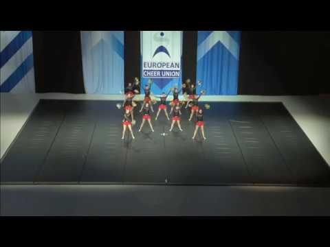 Cheerleading . Senior Pom Estonia Cheer Estonia.