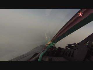 Полет в облаках на #МиГ31 БМ
