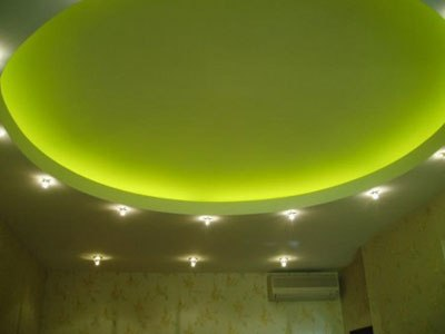 Подсветка потолка и потолочных ниш.