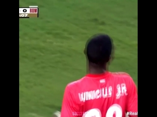 Vinicius Jr Vs AS Roma 🔥