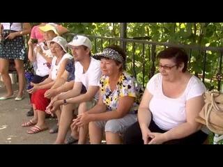 Экскурсия для пенсионеров в конном клубе Золотая Подкова