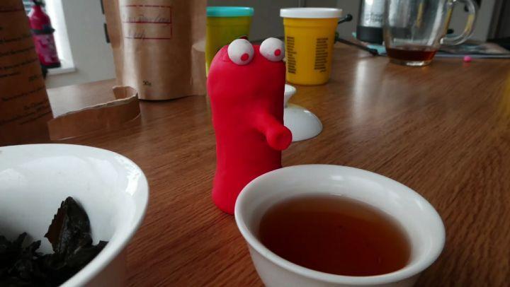 "King Gushu on Instagram: ""Wuyi Shui Xian on an empty stomach... tea cha tealove teatime gongfucha gaiwan oolong china chinesetea wuyishan..."