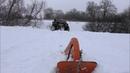 Снег с настом, неподдающиеся горки, якорь выручайка
