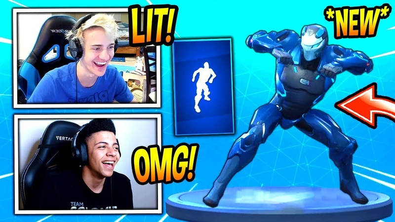 NINJA MYTH REACT TO *NEW* RAMBUNCTIOUS EMOTE/DANCE! *RARE* FORTNITE SAVAGE FUNNY Moments
