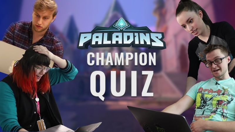 Paladins Dev Quiz - We Try to Name Every Champion