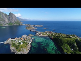 FLYING OVER NORWAY Ambient Drone Film [ FullHD ]