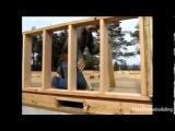 Как самому построить каркасный дом  Легко!