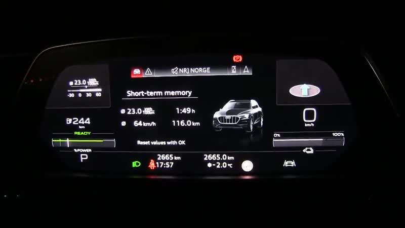E-tron, I-Pace and Model X efficiency test