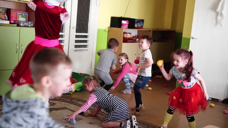 Хэллоу Китти в Дедском Саду на день именинника