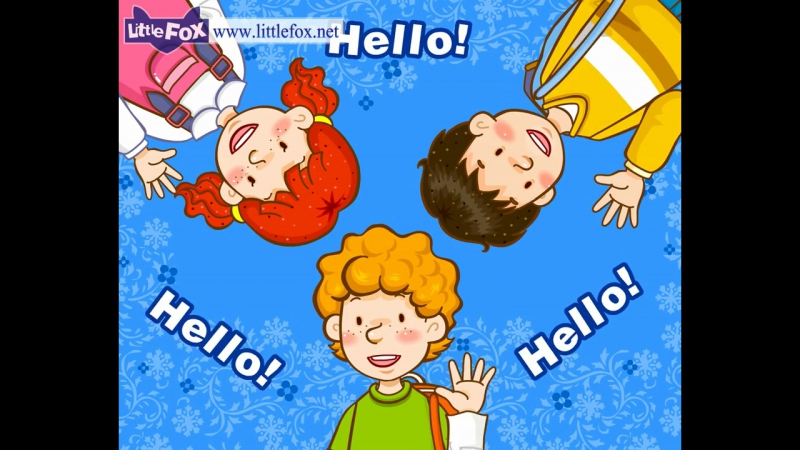 Hello! _ Learn English for Kids Song by Little Fox