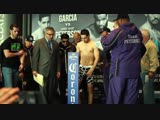 Danny garcia vs lamont peterson faceoff and weigh in - EsNews boxing
