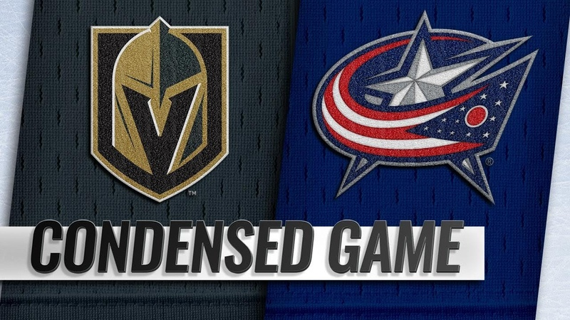 12/17/18 Condensed Game: Golden Knights @ Blue Jackets