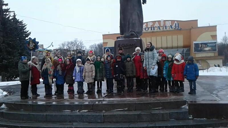 Фестиваль Різдвяні піснеспіви Виступ учнів ЗОШ №9