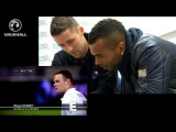 Gary Cahill and Ashley Cole pick their favourite England qualifying goal