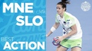 Captain Ana Gros powerful shot Women's EHF EURO 2018