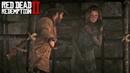 Red Dead Redemption 2 Артур спасает Мередит во время поиска нового места для лагеря банды