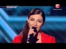 Х Фактор 4 сезон - Последняя песня Дарьи Ковтун -  14.12.2013