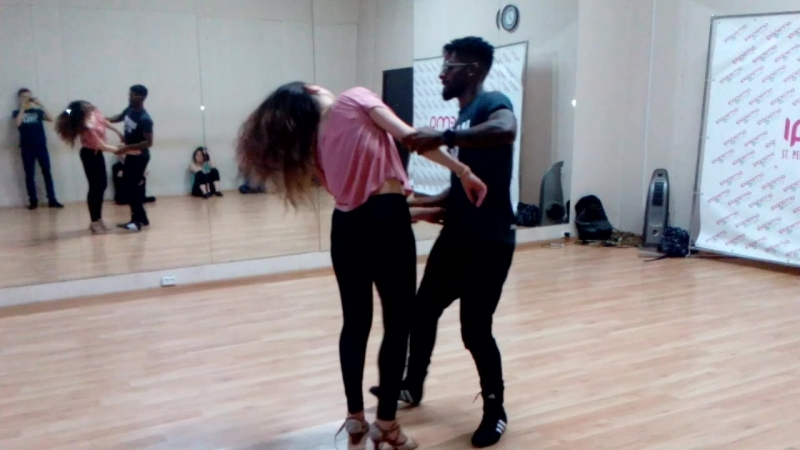Демо Анна Вит и Волтер Фернандес | Demo after class Anna Vit Wolter Fernandes | Ipanema Dance Studio