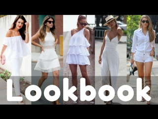 Trendy Summer White Dresses / Outfits Collection 2018 | Summer Lookbook