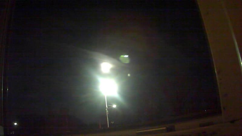 Das Licht über der Laterne. Meine Dunkle Seite scheint von sich aus.
