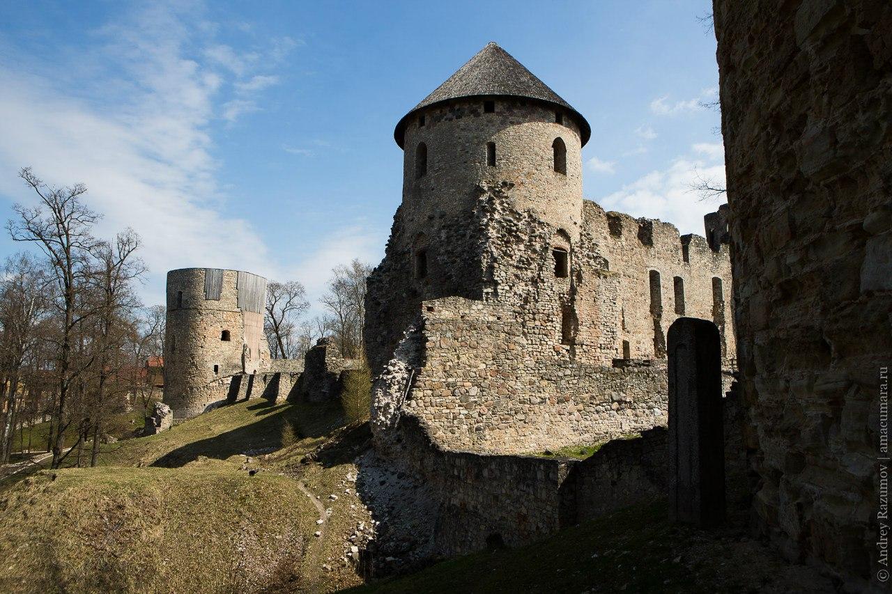 Цесис Латвия Венденский замок крепость
