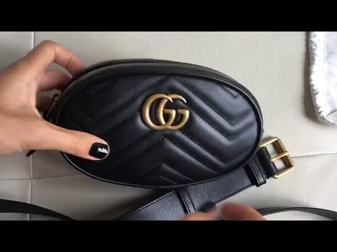 Женская Сумка на пояс GG Marmont! Тренд 2018!