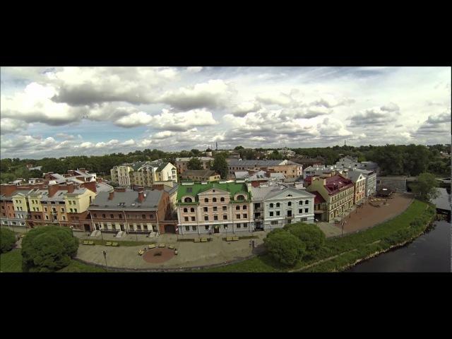 Псков и Изборск - видеосъёмка с квадрокоптера Pskov and Izborsk - aerial video