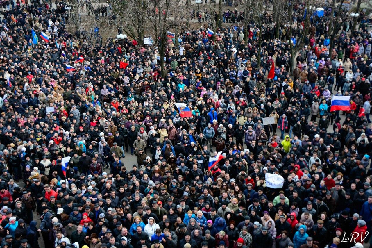 Русская Весна в Луганске