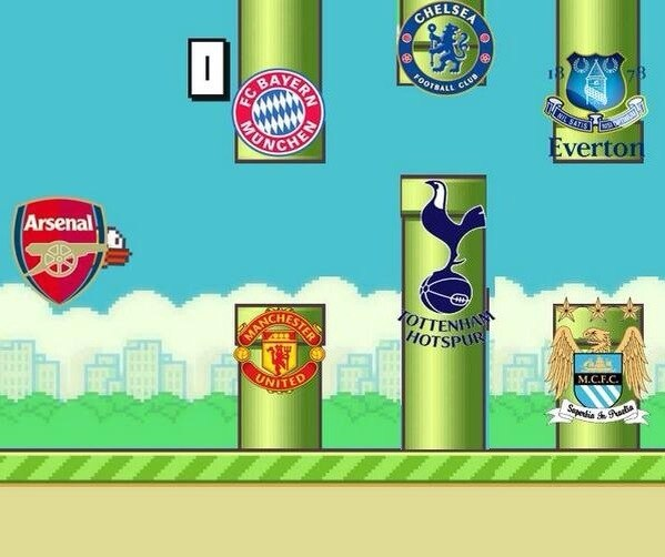Flappy Arsenal