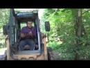 09.08.18_!проделана грунтовая дорога_грунт завозят через лесопарк_