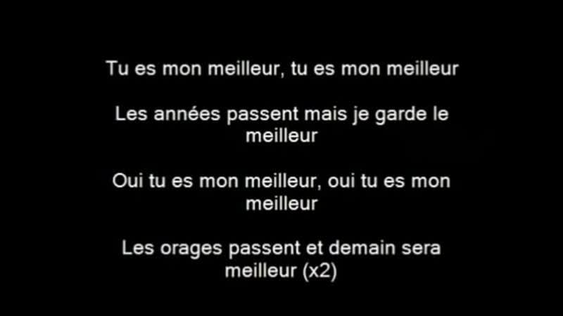 La Fouine feat Zaho-Ma meilleure[instrumentalparole]