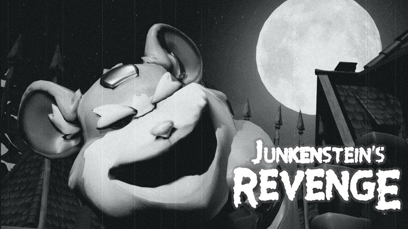 Its Junkensteins Revenge, but He is replaced with every Hero of Overwatch