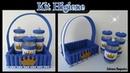 Kit Higiene Cesta de EVA com Material Reciclado 💕
